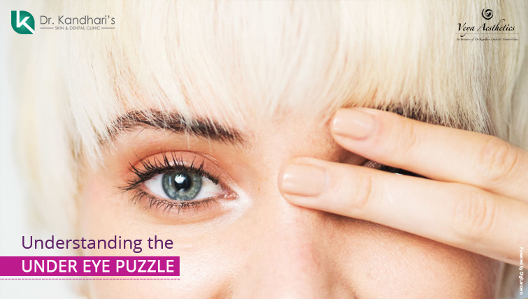 Under EYE Puzzle skin treatment